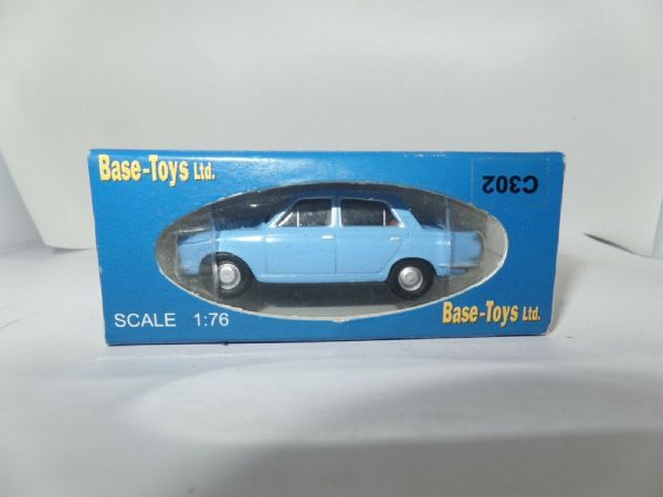 B T Models Base Toys C302 1/76 OO Scale Ford Cortina I Mid Blue